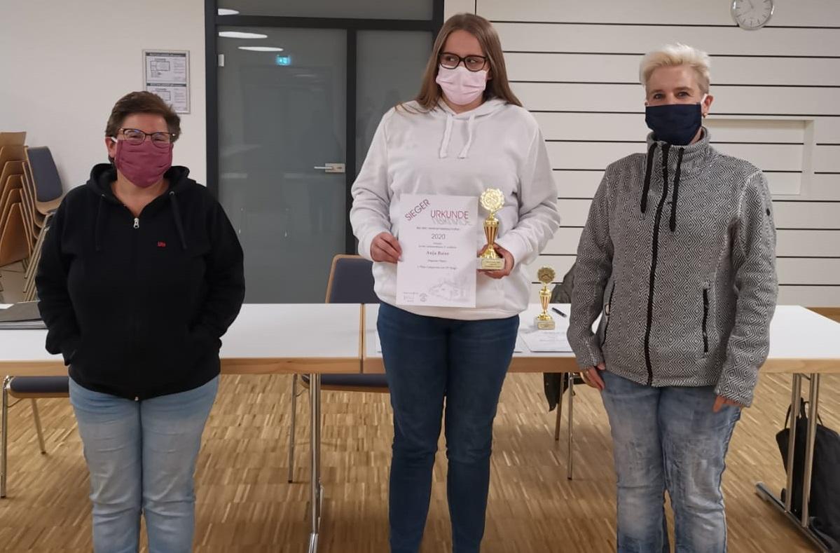 Jugendhauptversammlung v.l.: Ute Schäfer, Anja Baier, Bettina Schmid