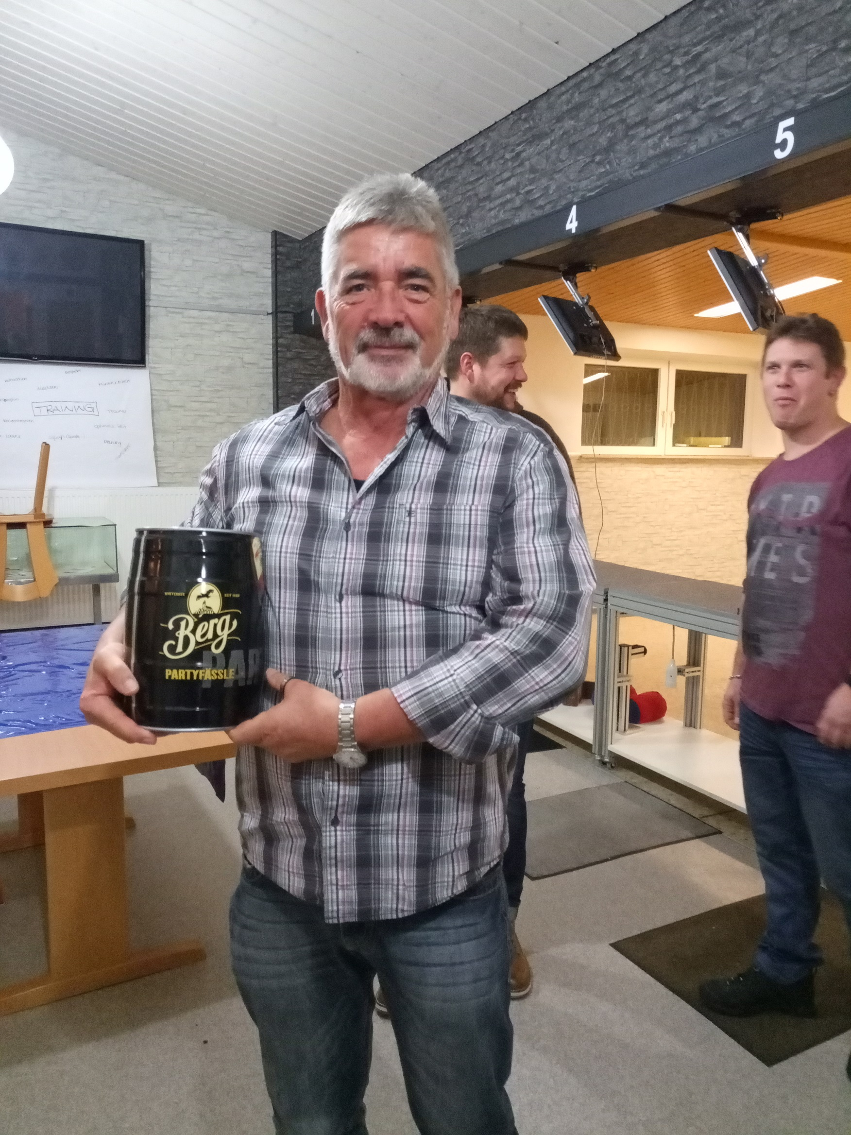 Gesamtsieger mit dem Fässle Bier