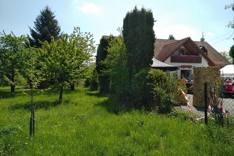 Am Naturfreundehaus Metzingen