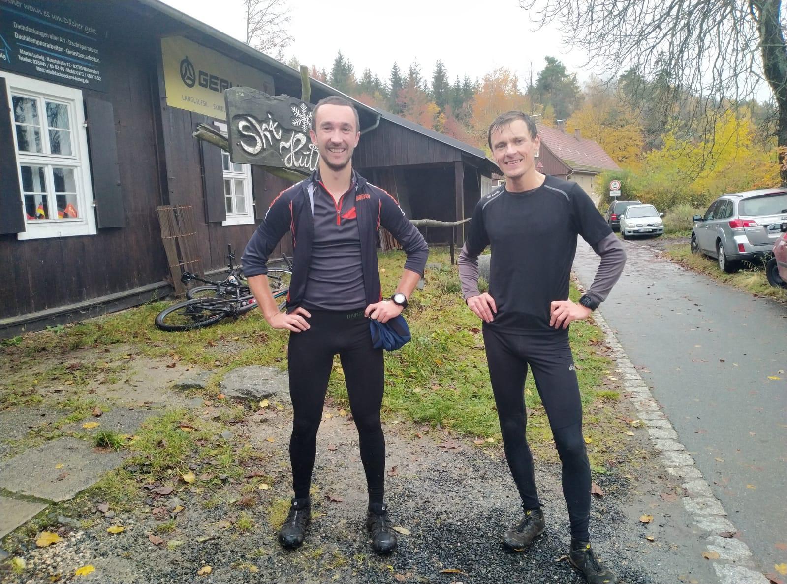 Alle Gipfel Tour Zielfoto - v.l.n.r: Stephan, Robert