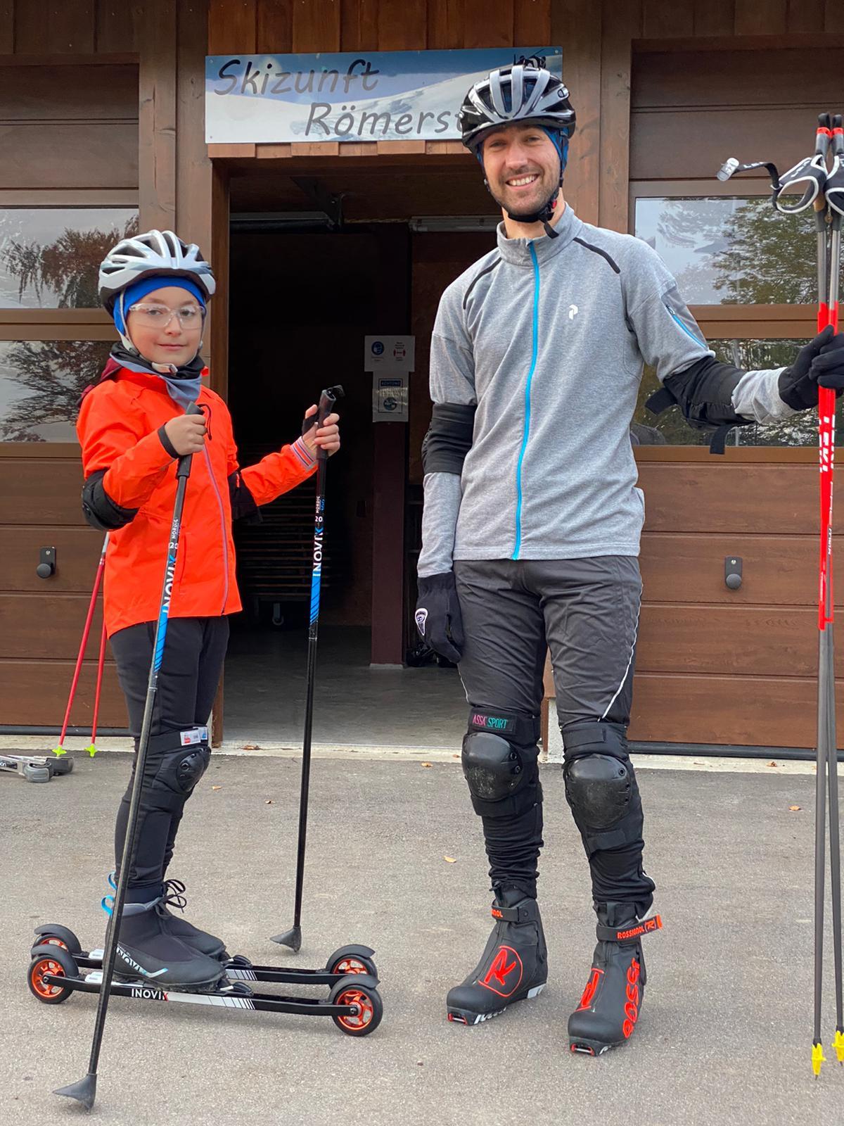 Rollski Training in Römerstein