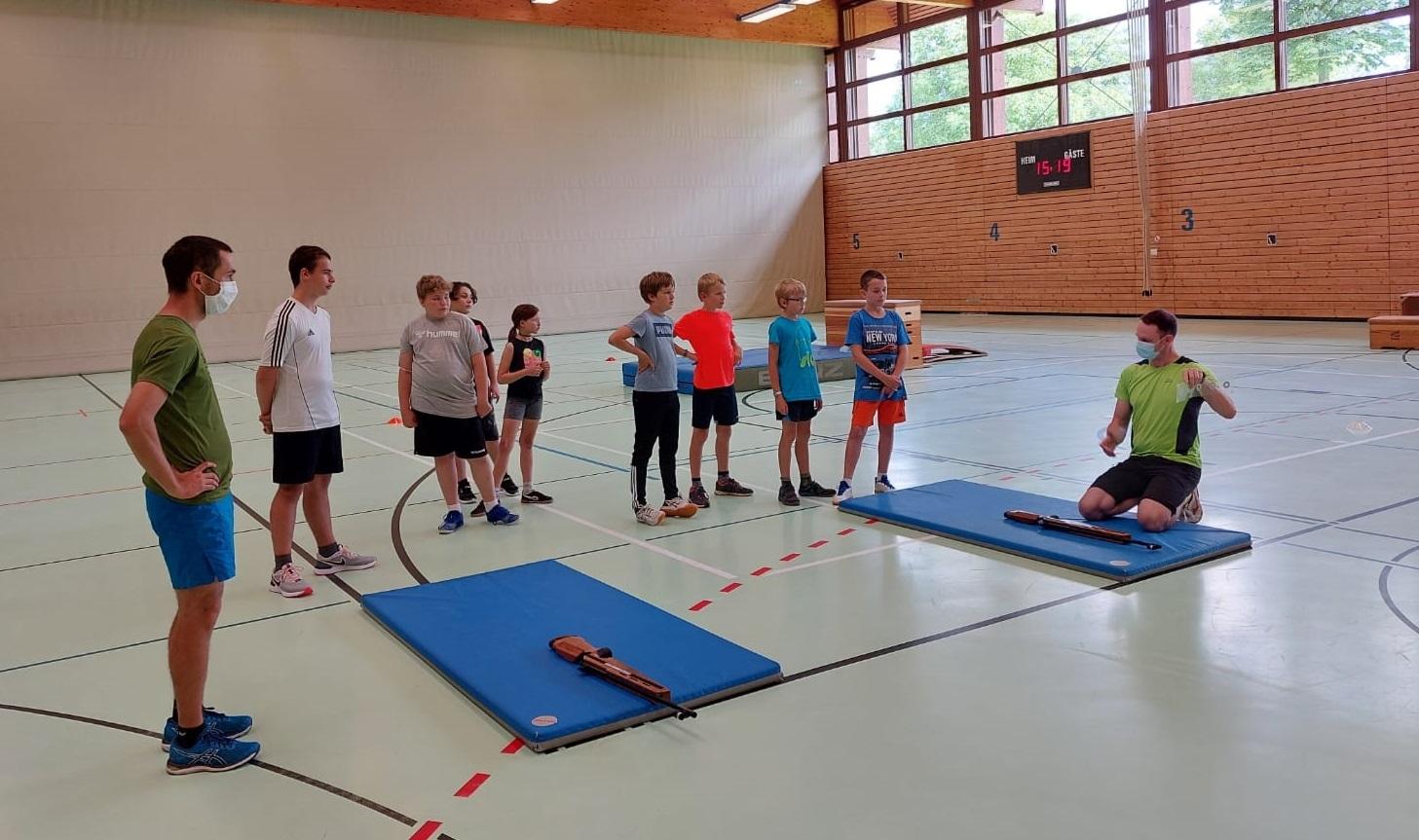 Sommerferienprogramm Frickenhausen Sommerbiathlon